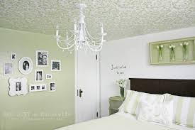 textured ceiling paint ideas stenciled ceiling stacy risenmay