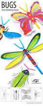 great craft project for kids printable templates to make insects