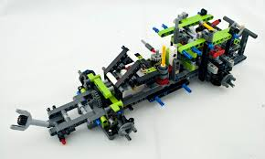 review lego 42054 claas xerion 5000 trac vc rebrickable