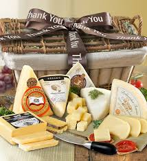 Cheese Gift Baskets Thank You Cheese Gift Basket 1800baskets Com 93709