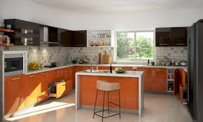 modular kitchen island modular kitchen a few trendy and functional solutions for the