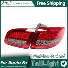 hyundai santa fe tail light assembly akd car styling for hyundai santa fe led tail lights 2007 2013 new