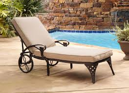 Biscayne Patio Furniture by Home Styles Biscayne Chaise Lounge Chair Taupe Cushion By Oj