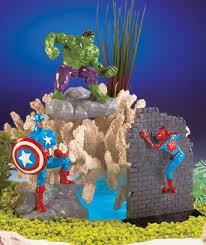 marvel aquarium ornaments the lakeside collection