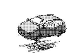 animated wrecked car crash car crash by l yggdrall on deviantart
