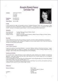 c v cv resume by akugouhime on deviantart