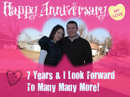 message to my husband on our wedding anniversary letter to my husband happy 7th anniversary my