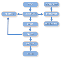 defect bug cycle software testing