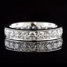 wedding band manufacturers m102d 101p stylish modern vintage design pave set diamond eternity