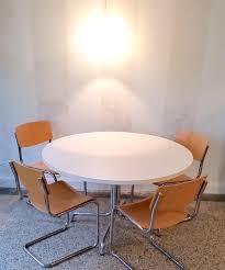 Esszimmertisch Skagen Tisch Rund Thonet Weiß 120 Cm Carprola For