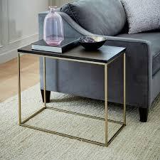 long narrow coffee table streamline narrow side table west elm uk