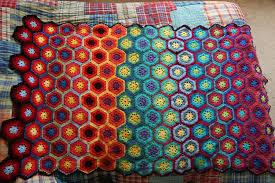 crocheted blanket by effunia on deviantart