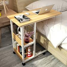 side table with laptop storage laptop storage shelf rolling laptop side table simple storage sofa
