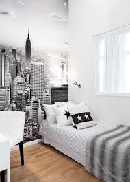 chambre ado noir et blanc chambre noir et blanc ado idées de décoration capreol us