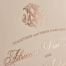 wording wedding invitations3 initial monogram fonts the 25 best monogram wedding invitations ideas on