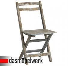 design klappstuhl klappstuhl stuhl deko sitzmöbel klappbar shabby chic design 13 170 03