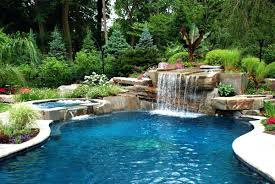 pools with waterfalls perfect swimming pool waterfalls decoration pictures of pools with