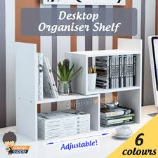Desk Organizer Shelf Qoo10 Desk Organiser Shelf Stationery Supplies