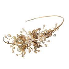 wedding accessories uk side headband gold wedding dress from aye do wedding