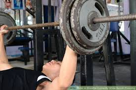Bench Press By Yourself How To Breathe Correctly While Bench Pressing 8 Steps Wikihow