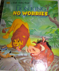 disney u0027s the lion king no worries a new story about simba a
