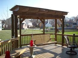 pergolas and trellises dayton u0026 cincinnati deck porch and