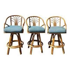 Bar Stool Sets Of 3 Vintage Used Bar Stools Chairish