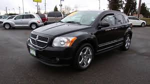 2007 dodge caliber r t 5 speed manual 31 mpg youtube