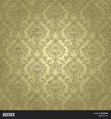 damask wrapping paper damask seamless pattern on vector photo bigstock