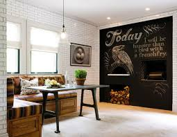 empty kitchen wall ideas typography wall to fashion inspirational interiors
