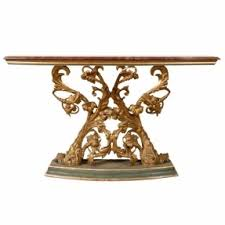 Italian Console Table Console Table With Marble Top Foter