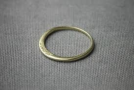 Make Wedding Ring by This Super Simple Band Would Make The Sweetest Wedding Ring I