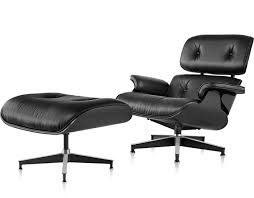 Miller Lounge Chair Design Ideas Awesome Murdered Out Eames Lounge Chair Ottoman Design Milk With