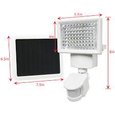 solar powered sensor security light 4 pack 60 smd leds white solar powered motion sensor security light
