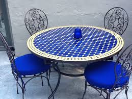 Outdoor Moroccan Furniture by Moroccan Dining Table Zamp Co