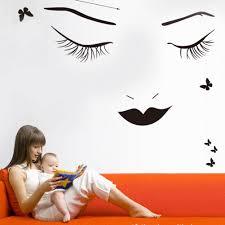 Home Decor Vinyl Wall Art by Lash Wall Art Promotion Shop For Promotional Lash Wall Art On