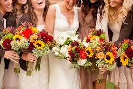 fall wedding bouquets wedding flower ideas for fall weddings