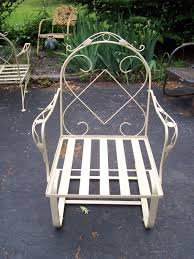 Vintage Woodard Patio Furniture Patterns by Woodard Lyon Shaw Rocker Chair Offered On Ebay Starting At