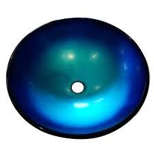 blue glass vessel sink blue vessel sink blue glass vessel sink rectangular blue glass