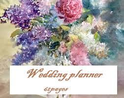 Personalized Wedding Planner Wedding Planner Personalized Elegant Planner Book Custom