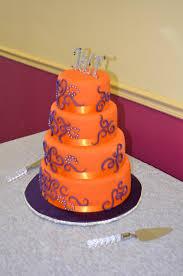wedding cakes wedding cakes purple and yellow purple wedding