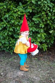 gnome costume for toddlers diy garden gnome costume