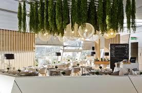Restaurant Decoration Restaurant Decor With Green Spirit Interiorzine
