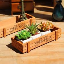 compare prices on succulent planter wood online shopping buy low