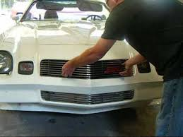 camaro custom grill how to install billet grilles on your 1970 1981 camaro