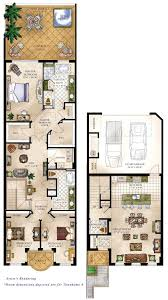 town house floor plans 4 bedroom townhouse floor plans ideas costaverano townhomes also