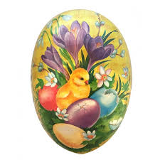 german paper mache easter eggs papier mache eggs from germany