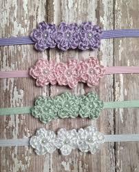 crochet headband for baby baby girl headband newborn headband crochet baby headband
