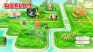Super Mario World Level Maps by Super Mario 3d World Review Giant Bomb