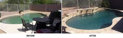 Backyard Renovations Before And After Backyard Renovation Before U0026 After Gallery Rockworks Arizona